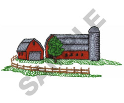BARN AND STABLE embroidery design
