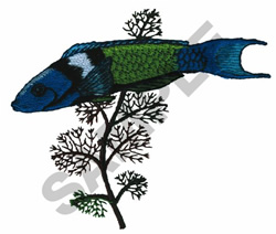 BLUEHEAD embroidery design
