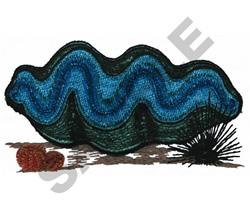 CLAM embroidery design