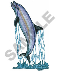 BOTTLENOSE DOLPHIN embroidery design