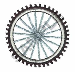 BIKE TIRE embroidery design