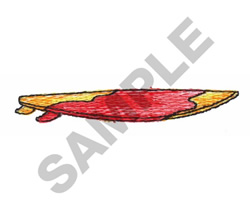 SURFBOARD embroidery design