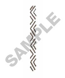 TIRE TRACK embroidery design