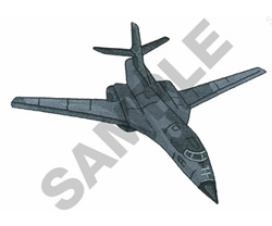 B1 BOMBER embroidery design