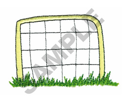 SOCCER GOAL embroidery design