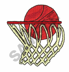 BASKETBALL embroidery design