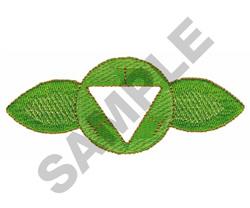 YOGA SYMBOL embroidery design