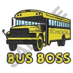 BUSS BOSS embroidery design