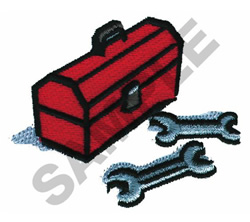 MECHANICS LOGO embroidery design