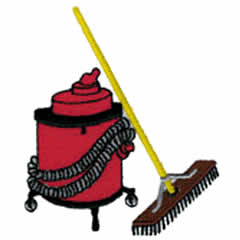 CLEANING SERVICE embroidery design