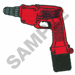 ELECTRIC DRILL embroidery design