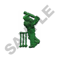 FEMALE  PLAYER embroidery design