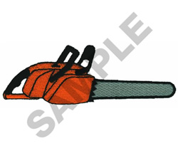 CHAIN SAW embroidery design