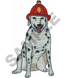DALMATIAN FIRE DOG embroidery design