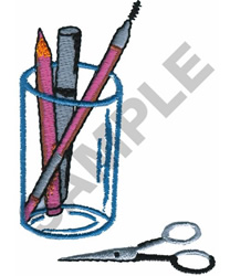 SALON HOLDER embroidery design