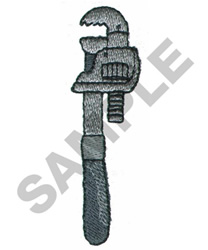 PIPE WRENCH embroidery design