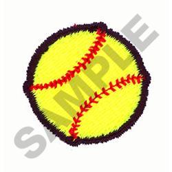 SOFTBALL embroidery design