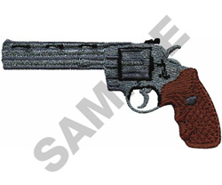 .357 PYTHON W/GRIP embroidery design