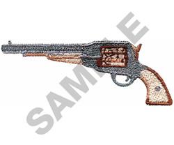 NAVY ARMY REVOLVER embroidery design