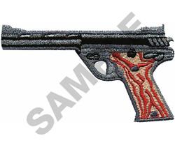 .357 MAGNUM AUTO embroidery design