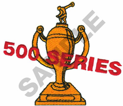 500 SERIES TROPHY embroidery design