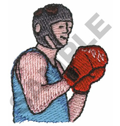 BOXER embroidery design