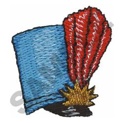 MAJORETTE HAT embroidery design