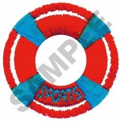 SPORTS BOUY embroidery design