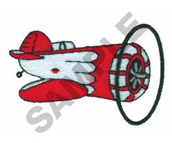 GEE BEE AIRCRAFT embroidery design