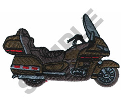 MOTORCYCLE embroidery design
