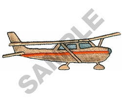 CESSNA 172 AIRPLANE embroidery design