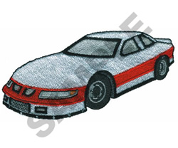 PRO CUP RACE CAR embroidery design