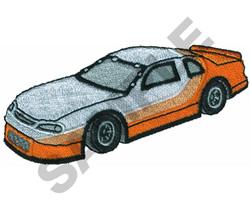PRO CUP RACE CAR embroidery design