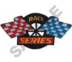 RACE SERIES embroidery design