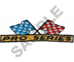 PRO SERIES embroidery design