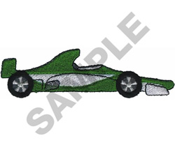RACE CAR  18 embroidery design