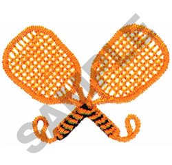 RACQUETBALL RACQUETS embroidery design