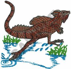 SEA LIZARD embroidery design