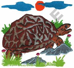 TORTOISE embroidery design