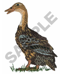 GOOSE embroidery design