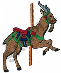 CAROUSEL ANTELOPE embroidery design