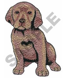 LABRADOR PUPPY embroidery design