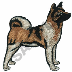 BASENJI embroidery design