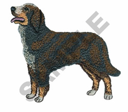 BERNESE TERRIER embroidery design