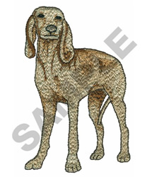 AMERICAN BLOODHOUND embroidery design