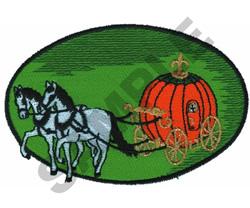 CINDERELLA PUMPKIN CARRIAGE embroidery design