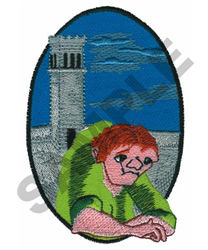 HUNCHBACK embroidery design