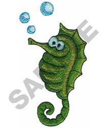 SEAHORSE embroidery design