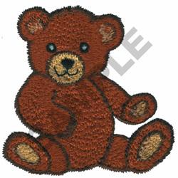 TEDDY BEAR embroidery design