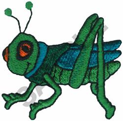 GRASSHOPPER embroidery design